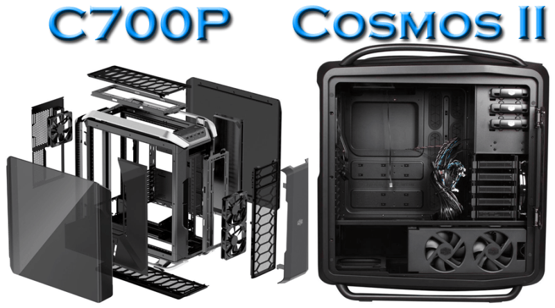 Cooler Master C700P vs Cosmos II compatibility