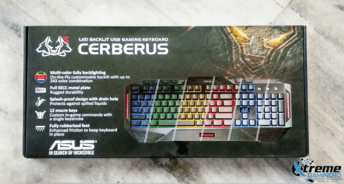 Asus Cerberus MKII Front Box
