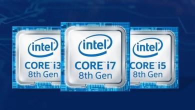 Intel Coffee Lake processors