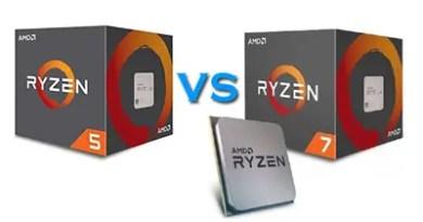 Ryzen 5 1600 vs Ryzen 7 1700 featured