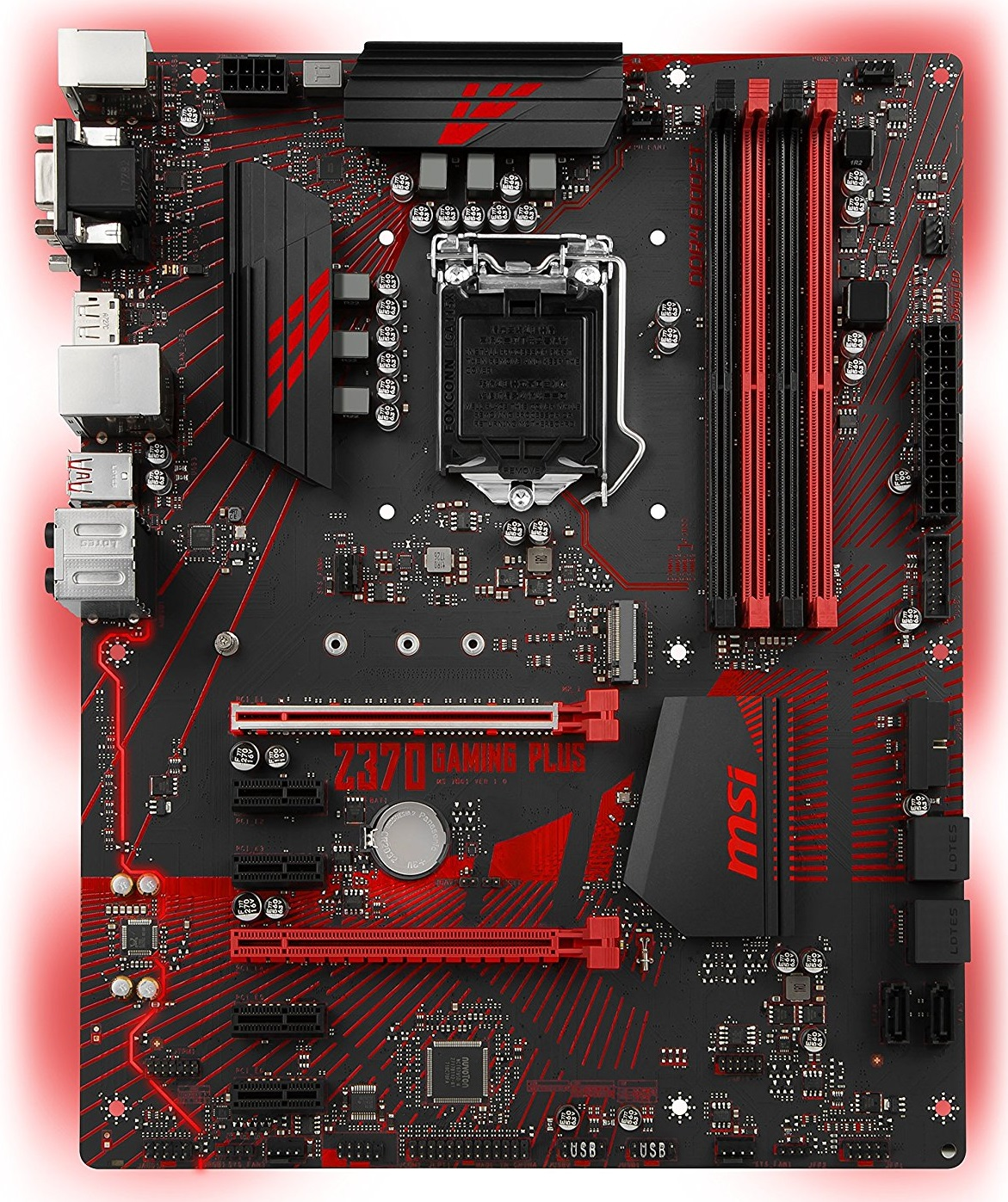 MSI Z370 GAMING PLUS CFX