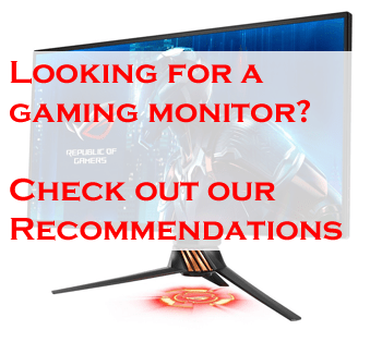 Looking for a monitor