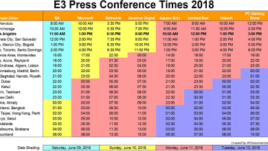 E3 Press conference 2018