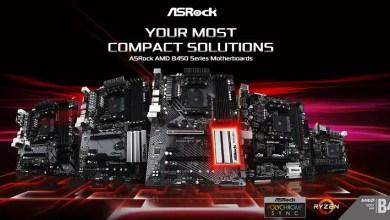 ASRock B450 motherboards