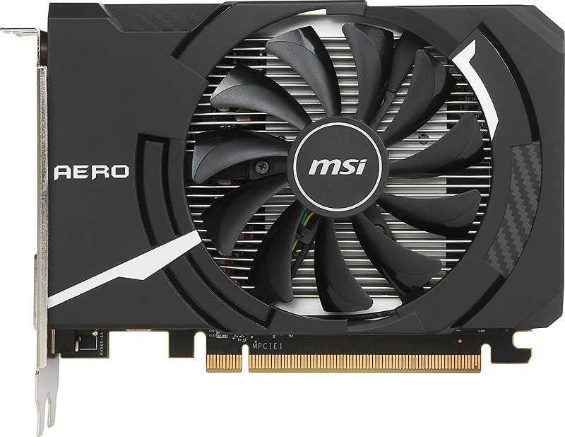 MSI Gaming Radeon RX 560 AERO 4GB