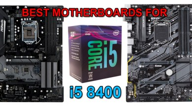 Best motherboards for i5 8400