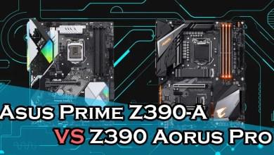 Asus Prime Z390-A vs Gigabyte Z390 Aorus Pro