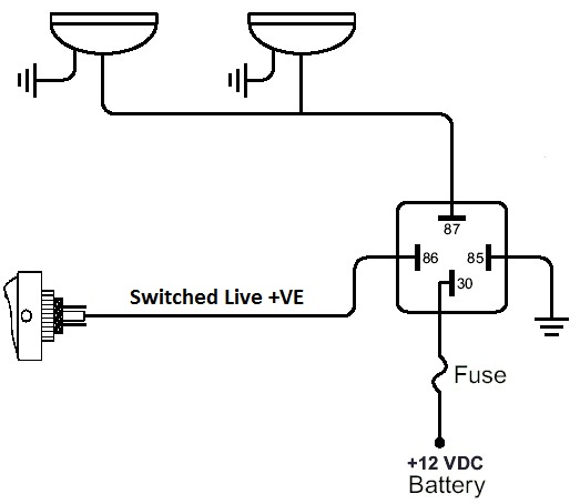 Wiring Diagram For A 4 Wire Relay