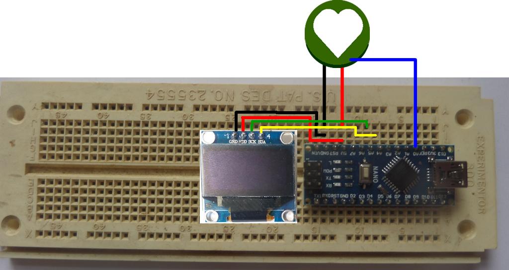 Heart Beat Sensor And  U0026quot Ecg U0026quot  Display