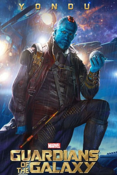 Marvel's Guardians of the Galaxy poster featuring Yondu (Michael Rooker)