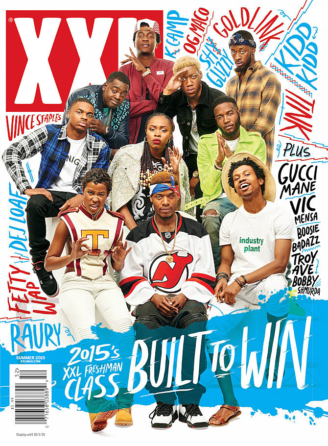 Image result for xxl freshman 2015 cover