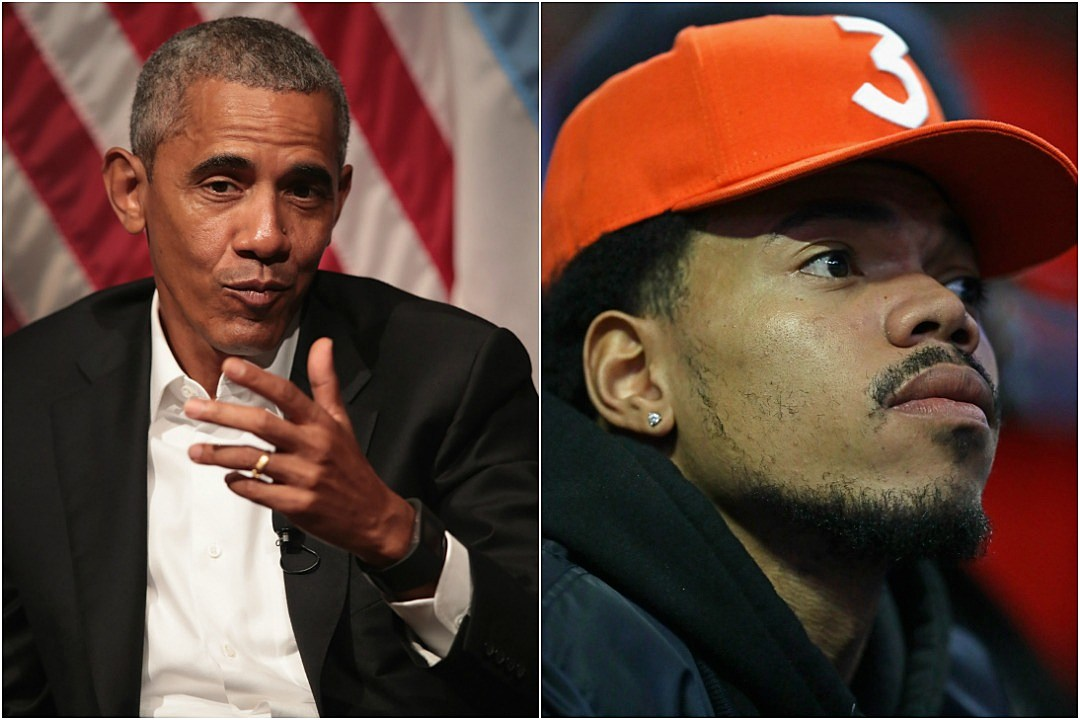 Image result for Chance the Rapper and President Obama Team Up For Obama Foundation Summit and Performance