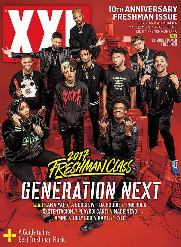 Image result for xxl freshman 2017 cover