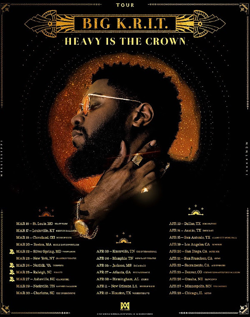 Image result for Big K.R.I.T. - Heavy Is The Crown