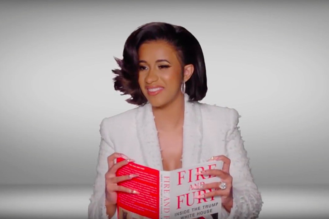 Image result for WATCH CARDI B, SNOOP DOGG AND DJ KHALED AUDITION TO NARRATE ANTI-TRUMP BOOK 'FIRE AND FURY'