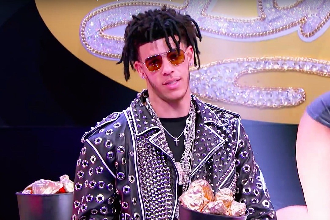 "Image result for Lonzo Ball Perform Migos' ""Bad and Boujee"" on 'Lip Sync Battle'"
