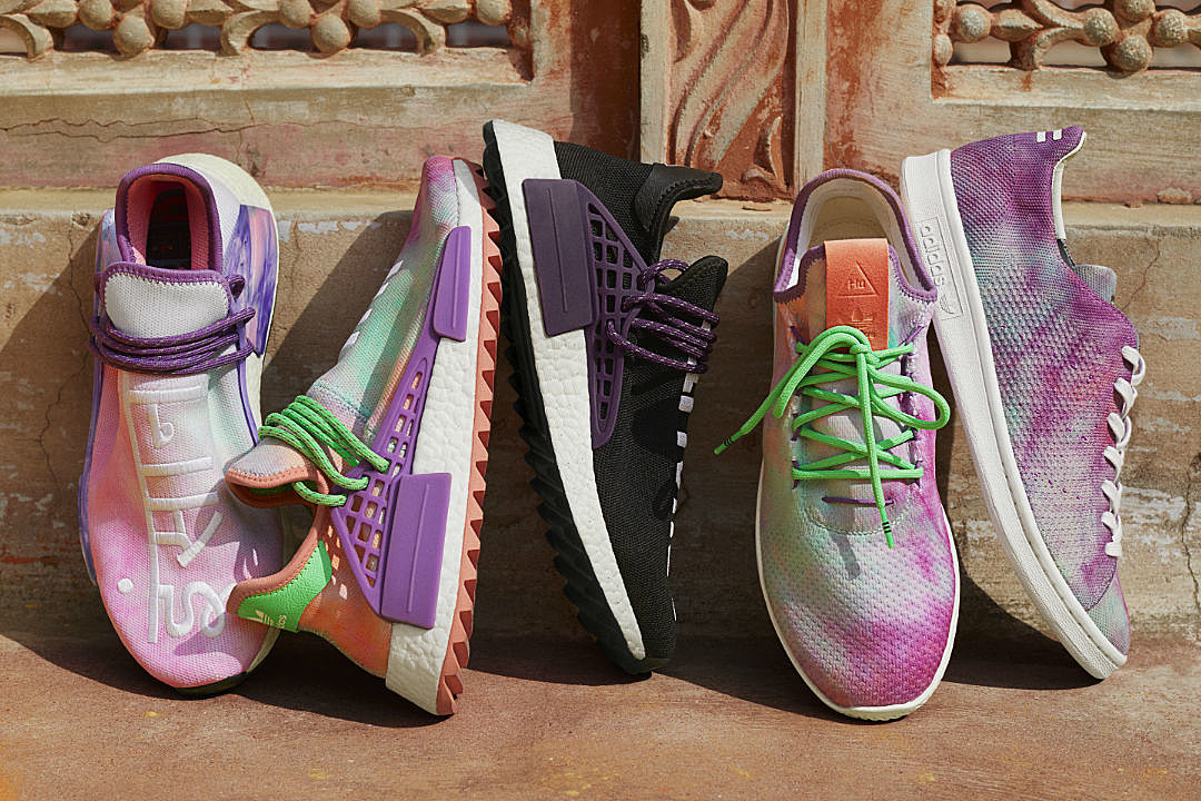 Image result for PHARRELL AND ADIDAS ORIGINALS UNVEIL POWDER DYE COLLECTION