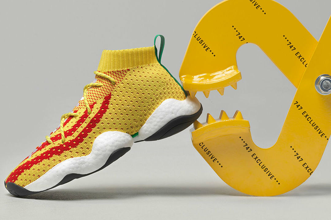Image result for PHARRELL INTRODUCES ADIDAS CRAZY BYW PW