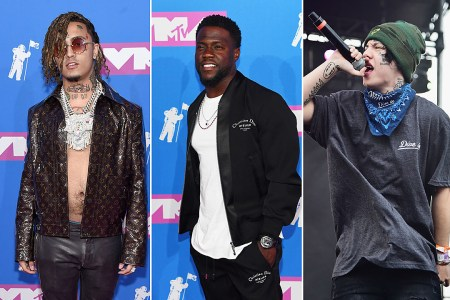 fifth kevin hart roasts lil pump lil xan tiffany haddish disses fifth harmony while presenting kevin hart roasts lil pump lil xan for their face tattoos