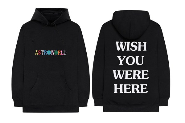 Travis Scott Releases Astroworld Merch Collection XXL