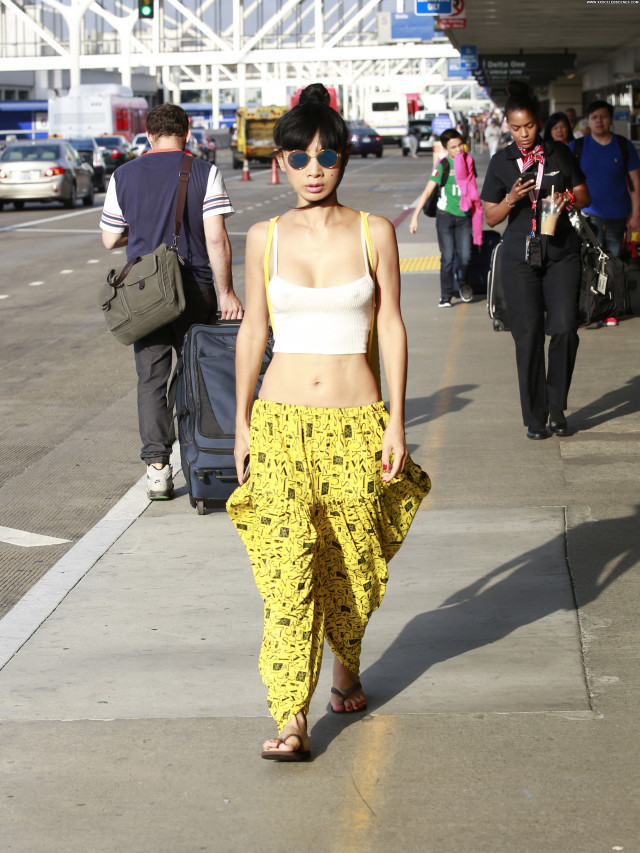 Bai Ling American Perfect Babe Posing Hot Chinese Braless Celebrity
