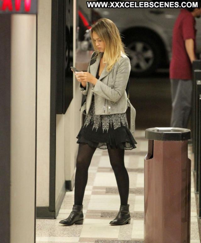 Jessica Alba Beautiful Posing Hot Celebrity Paparazzi Babe Doll