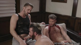 Threesome For The New Guy – IconMale