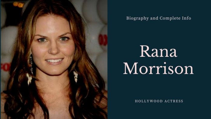 Rana Morrison Height Weight, Age , Biography and More