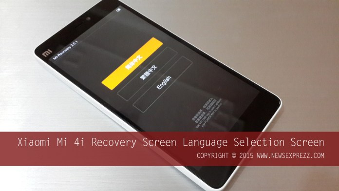 How To Hard Reset Xiaomi Mi 4i 1