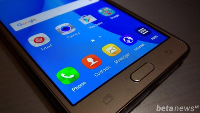 Galaxy On7 display