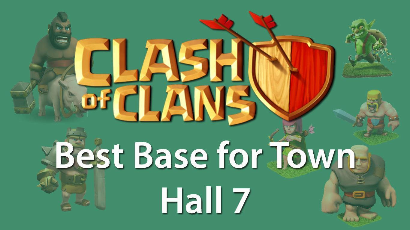Best Base for Town Hall 7 Clash of Clans | TH7 COC Best Base