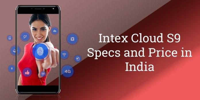 Intex cloud s9 specs