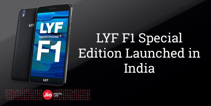 Lyf f1 special edition