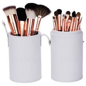 0005502 Mineral Makeup Brush Kit White Case 300