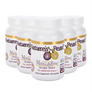 0009177 Premium Muscadine Grape Seed 5 Ct 300