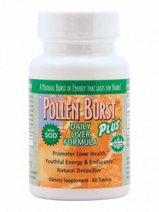 Pj415 Pollen Burst Plus Daily Liver Formula 0515