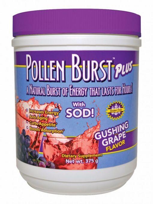 Pj600 Pollen Burst Plus Gushing Grape Canister 375g 0215