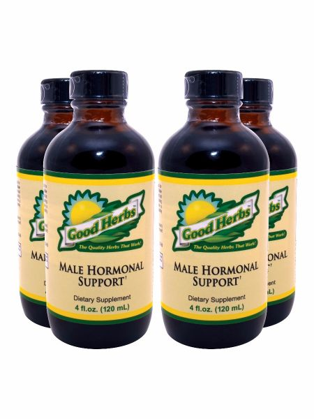 Usgh0025 Male Hormonal Support 4pack 0814