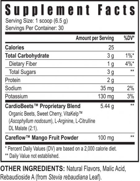 Ygy Usyg100071 Cardiobeets Suppfacts 0617