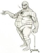 Glen southern - Fat Spiderman