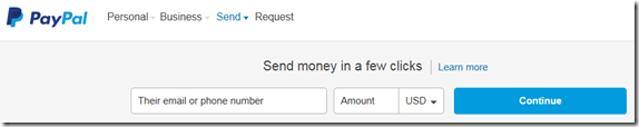 Yaacov Apelbaum - Phising site send money option