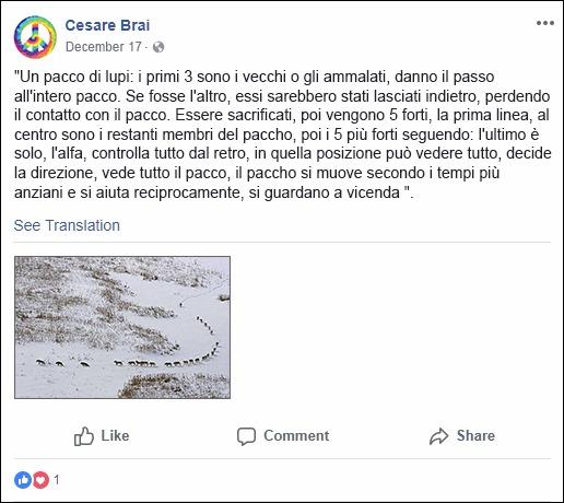 Cesare Brai FB