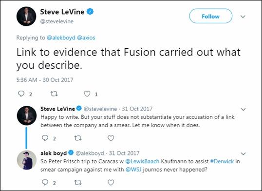 Steve LeVine Fusion GPS