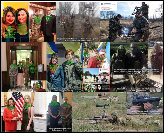 Alexandra Chalupa Sheikh Mansure Chechen Battalion