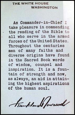 President Roosevelt's Preface