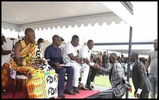 Dr. Osei Kwame Despite Wiamoase Police Station in Ashanti Region