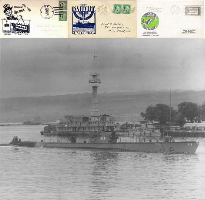 USS Becuna USS-319