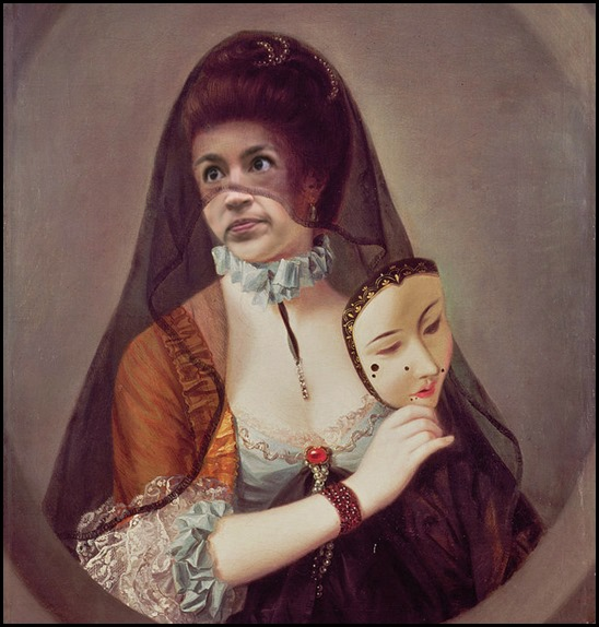 Alexandria Ocasio-Cortez with her plaisters