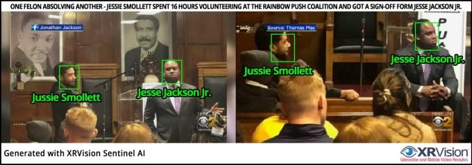 Jussie Smollett spent volunteering at the Rainbow PUSH Coalition
