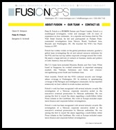 Peter Fritsch Fusion GPS 2011